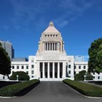 Здание японского парламента Нэшнал Диет Билдинг