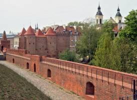 Варшавский барбакан