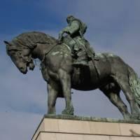 Статуя Яна Жижки