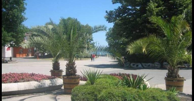 Морской сад в Варне