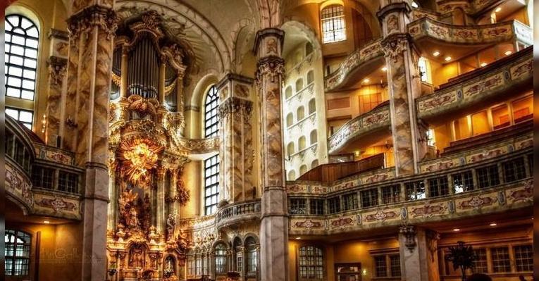 Церковь Девы Марии в Дрездене