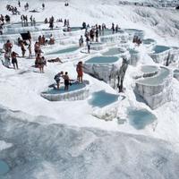 Геотермальные источники Паммукале