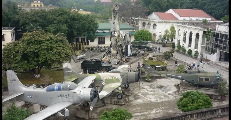 Military Museum in Hanoi