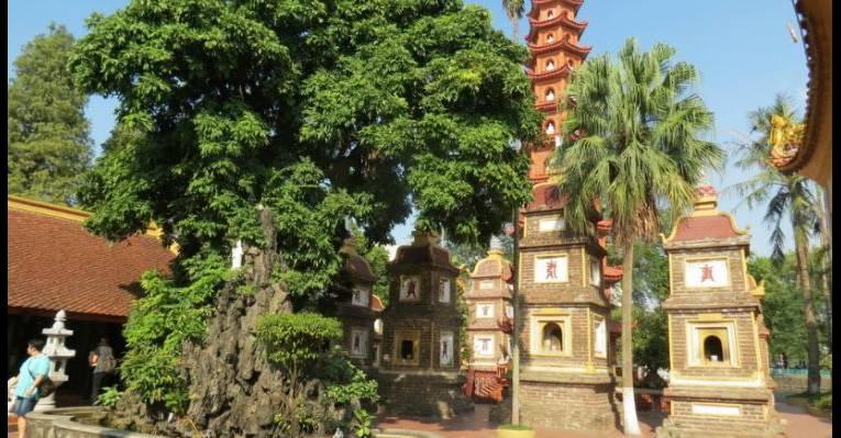 Пагода Tran Quoc Pagoda