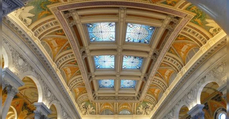 Библиотека Конгресса США. Вашингтон