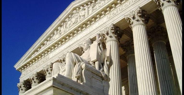 Здание Верховного суда США. Вашингтон