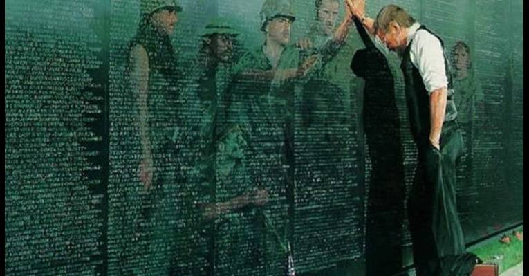 Мемориал ветеранов Вьетнама. Вашингтон
