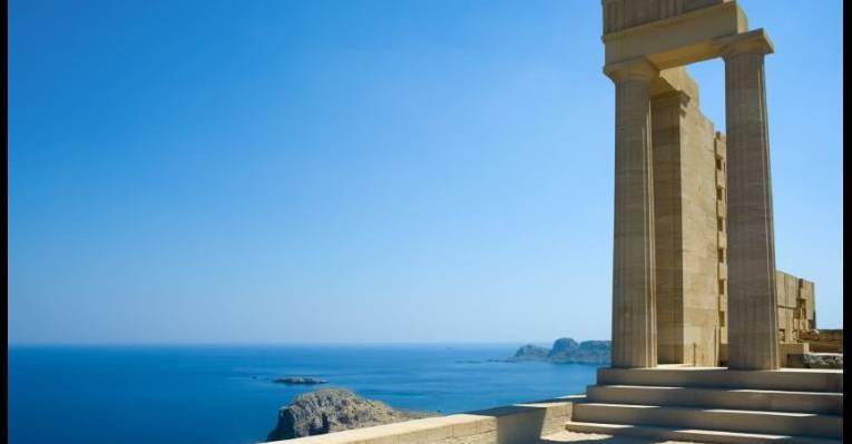 Руины античного города Китион