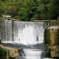 Водопад и озеро Псырцха