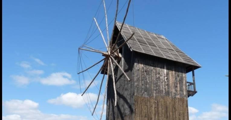 Ветряная мельница. Старый Несебр