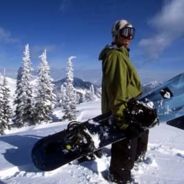 Сноубординг в Куршевеле