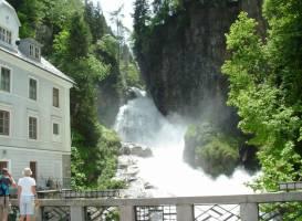 Водопад Бад- Гаштайна