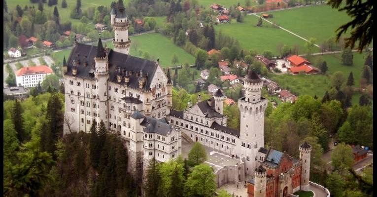 Замок Нойшванштайн. Бавария
