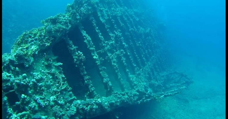 Затонувший корабль Карнатик