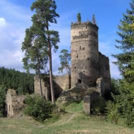 Руины замка Gutstejn