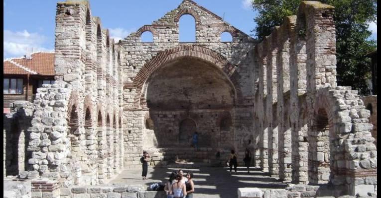 Базилика Святой Софии. Несебр