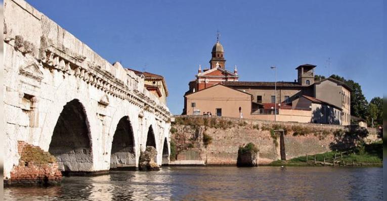 Мост Тиберия. Римини