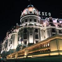 Hotel Negresco's cafe