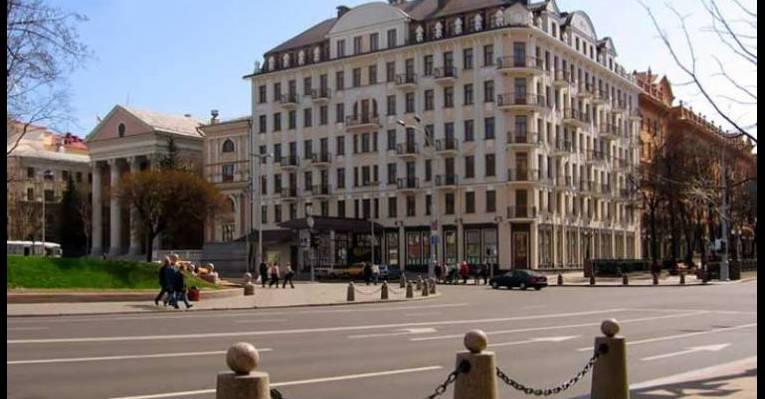 Площадь Свободы. Минск
