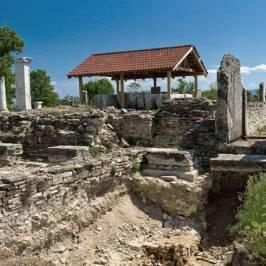 Руины античного города Никополис ад Иструм