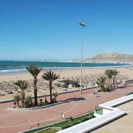 Набережная пляжа Агадир