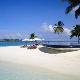 Пляж острова Ган