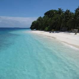Пляж острова Фонадхоо
