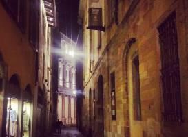 Верхний город в Бергамо