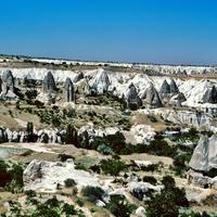 Жилые пещеры Каппадокии