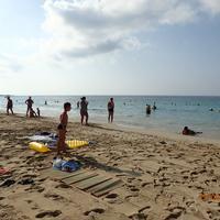 Пляж у гавани