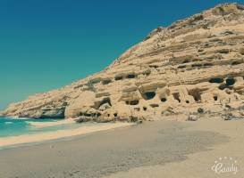 Matala beach