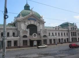 Железнодорожный вокзал Черновцов
