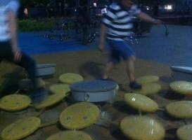 Игровая площадка на пярнуском пляже