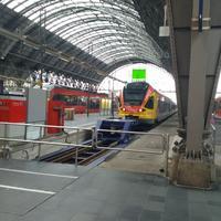 Главный вокзал Франкфурта