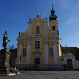 Gyor Old Town Area