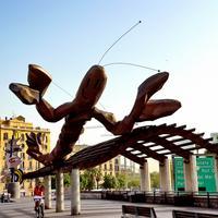 Скульптура Улыбающаяся креветка