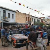 Flour Throwing Festival in Galaxidi