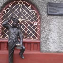 Памятник Шуре Балаганову