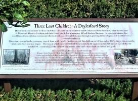 The Three Lost Children Walk & Monument