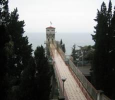 Мост к пляжу