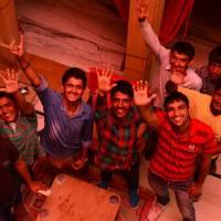 Jaisalmer Hostel Crowd