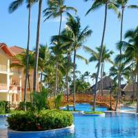 Bavaro golf course with 18 designer holes fitness center/gym with variety of machines/equipment