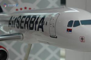 Сербия: Air Serbia раздает Wi-Fi