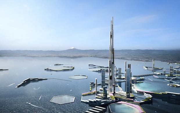 Япония: В Токио построят самый высокий небоскрёб в мире