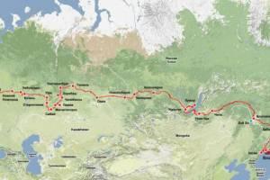 Россия: «Интурист» готовит супертур Петербург-Владивосток