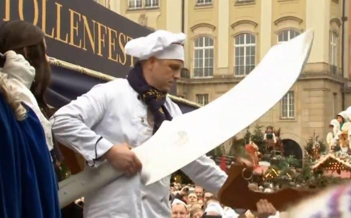 В Дрездене испекут гигантский штоллен