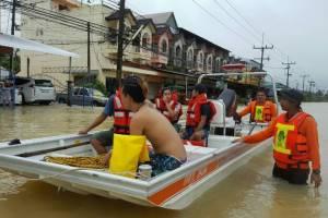 Наводнение на юге Таиланда привело к транспортному коллапсу, Туристам Коломны, Таиланд Отдых аэропорт