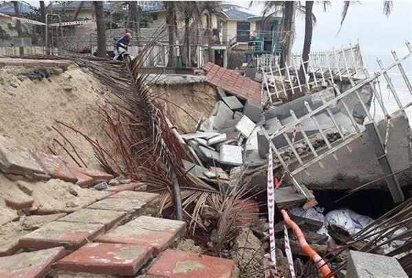 Море разрушило один из лучших пляжей во Вьетнаме