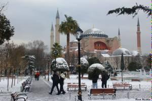 Турция приняла за эту зиму почти полмиллиона туристов