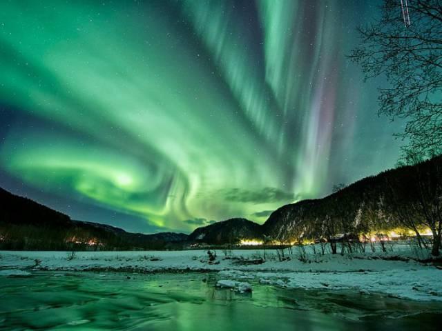 Финский отель на лыжах предлагает наслаждаться северным сиянием лежа, Туристам Коломны, Финляндия Путешествие аэропорт